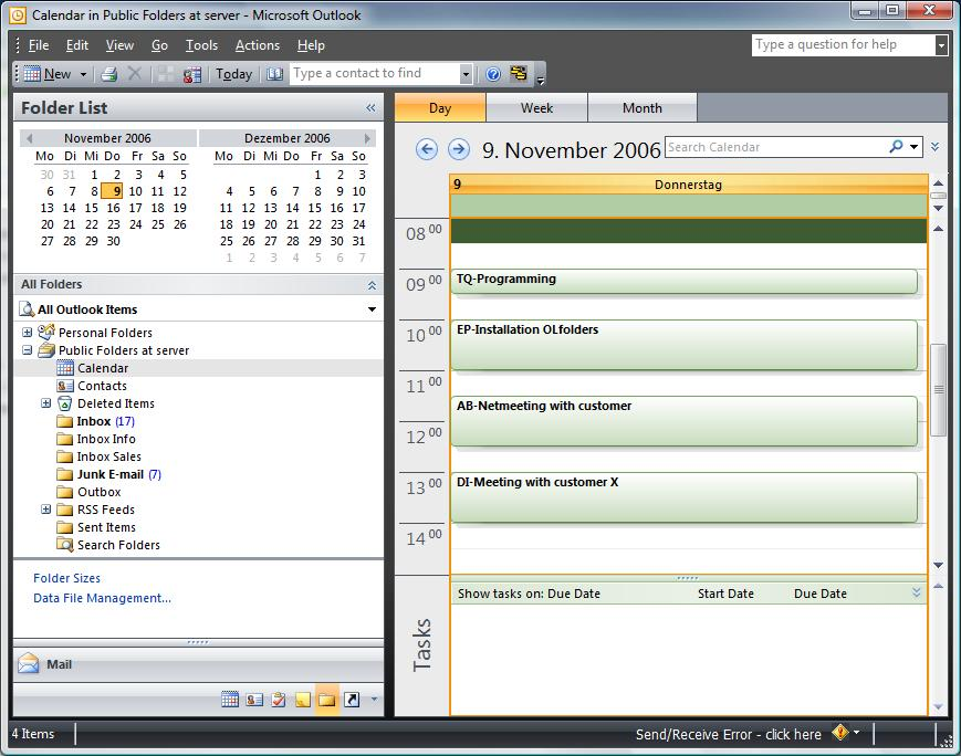 Outlook Group Calendar - Microsoft Office Outlook-Networks for SME